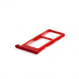 Tiroir SIM HUAWEI P Smart Plus Rouge