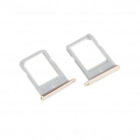 Tiroir SIM Samsung Galaxy S6 Edge (G925F) Or