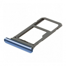 Tiroir SIM Samsung Galaxy S7 Edge (G935F) Bleu