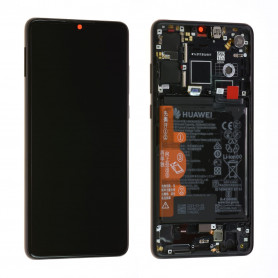 Écran / Châssis / Batterie Huawei P30 Noir (Origine)