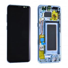 Écran Samsung Galaxy S8 (G950F) Bleu (Reconditionné)