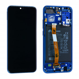 Écran Huawei Honor 10 Bleu + Châssis / Batterie (Origine)
