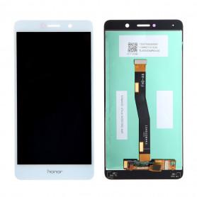 Ecran Huawei Honor 6X Blanc LCD + Vitre Tactile