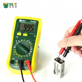 Testeur Mesure CC Tension AC Numérique Multimètre